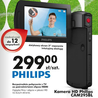 Kamera HD Philips CAM295BL Biedronka