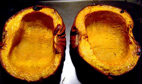 Roasted Pumpkin Halves
