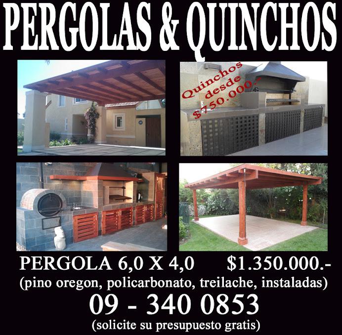 PERGOLAS Y QUINCHOS