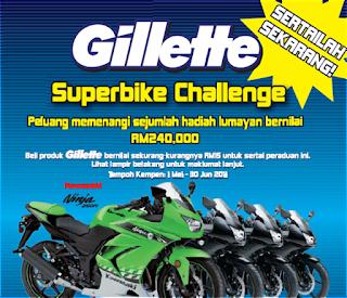 Gillette 'Superbike Challenge' Contest