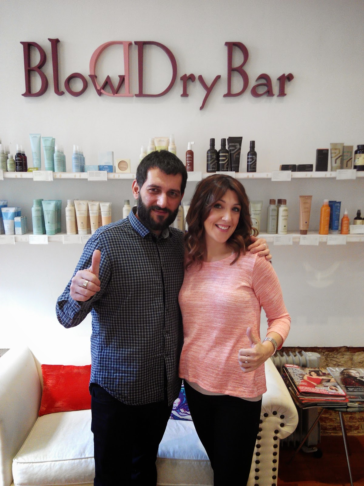Blow Dry Bar Madrid, bar de peinados y maquillaje