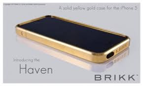 Apple iPhone 5s Sparkling Device Wrapped in Gold