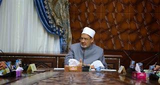 الإمام الأكبر يترأس الاجتماع الخامس لمجلس أمناء بيت الزكاة