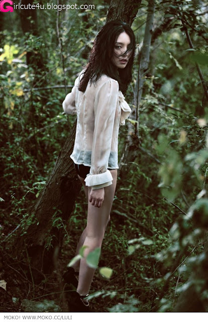 2 Luli - Forest-very cute asian girl-girlcute4u.blogspot.com