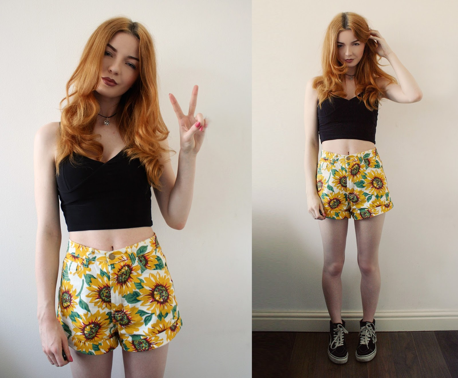 American Apparel sunflower dupe