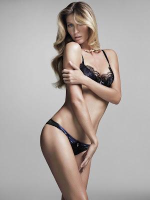 Gisele Budnchen sexy Intimates Lingerie 2012
