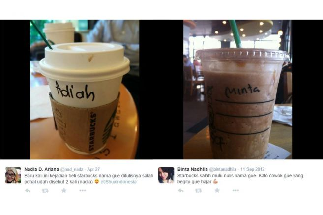 Ini Alasan Kenapa Barista Starbucks Selalu Salah Tulis Nama di Gelasmu