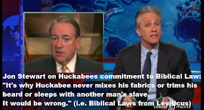 Huckabee's Commitment To The Bible
