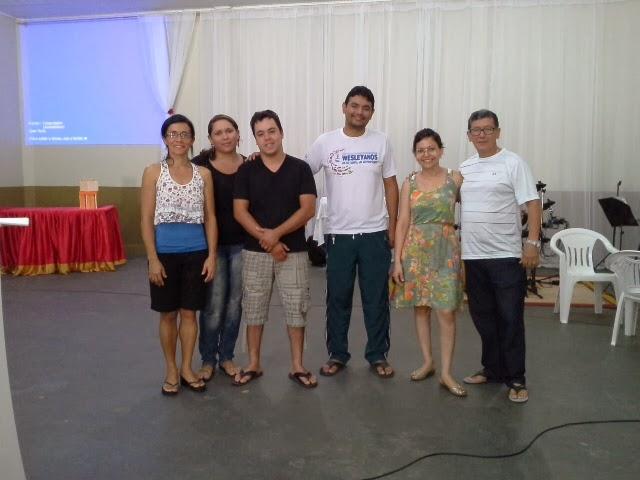 Consagração da  Equipe de Evangelização na Igreja Metodista Wesleyana Segundo Distrito -  Domingo.