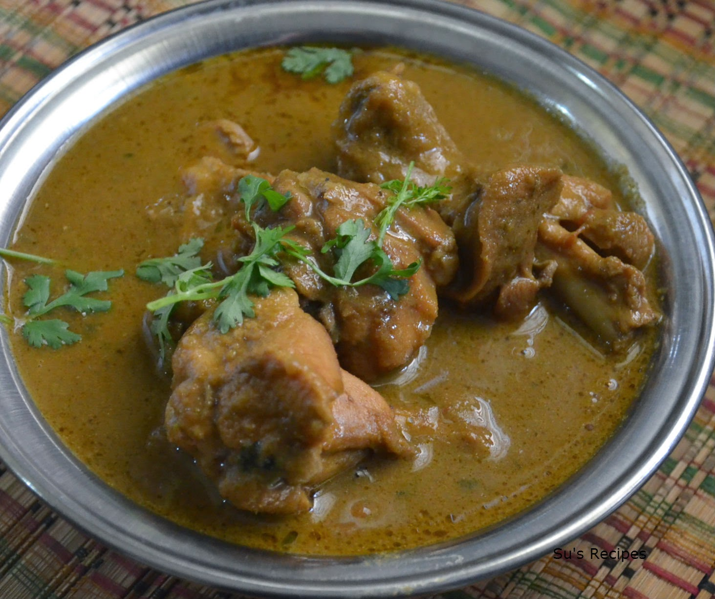 kodi kura, chicken curry, simple non veg curry, kodi pulusu, chicken gravy, koli saaru,