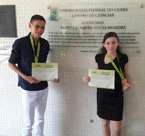 Olimpíada Brasileira de Matemática das Escolas Públicas - OBMEP 2015 / Leyla Renata e Mateus Miguel