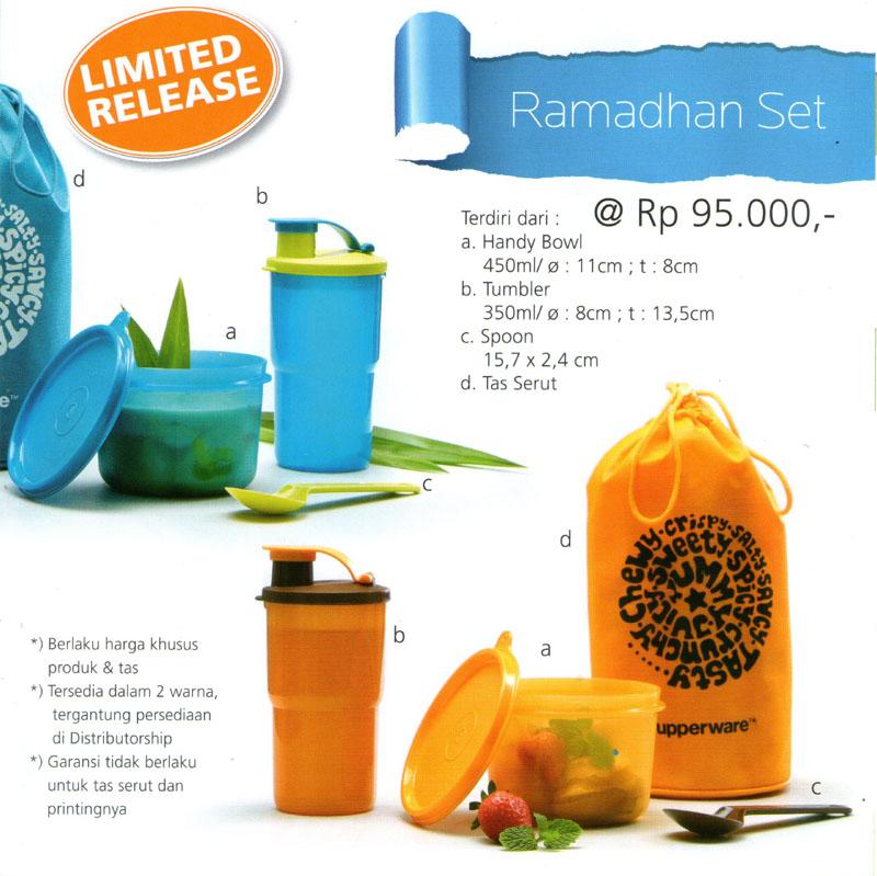 Katalog Tupperware Promo Juni 2013-Ramadhan Set, tupperwareraya