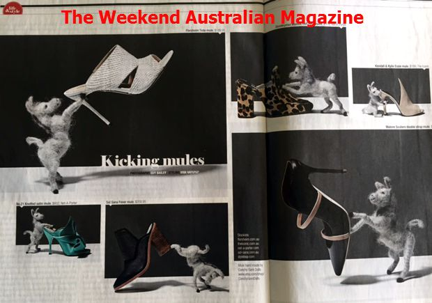 Featured in The Weekend Australian Magazine.April 2016.