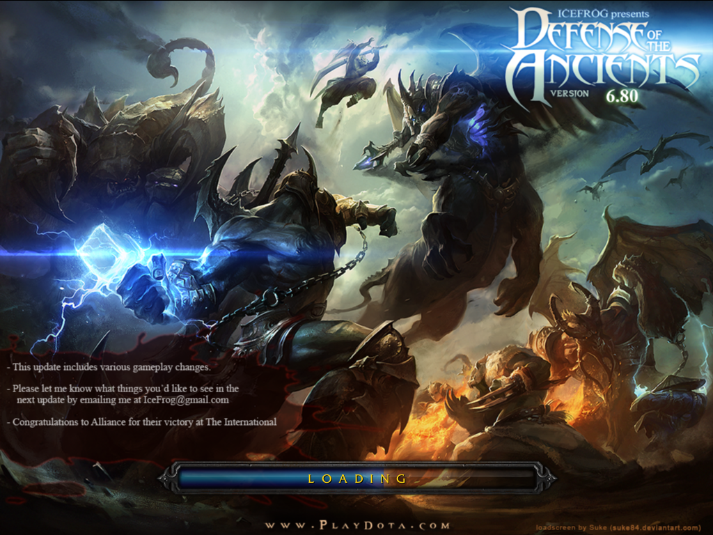 dota 6.80c loading screen