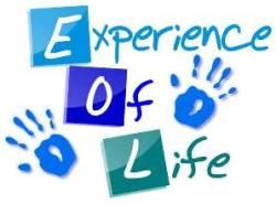 Experience of Life, kumpulan sebuah pengalaman hidup.