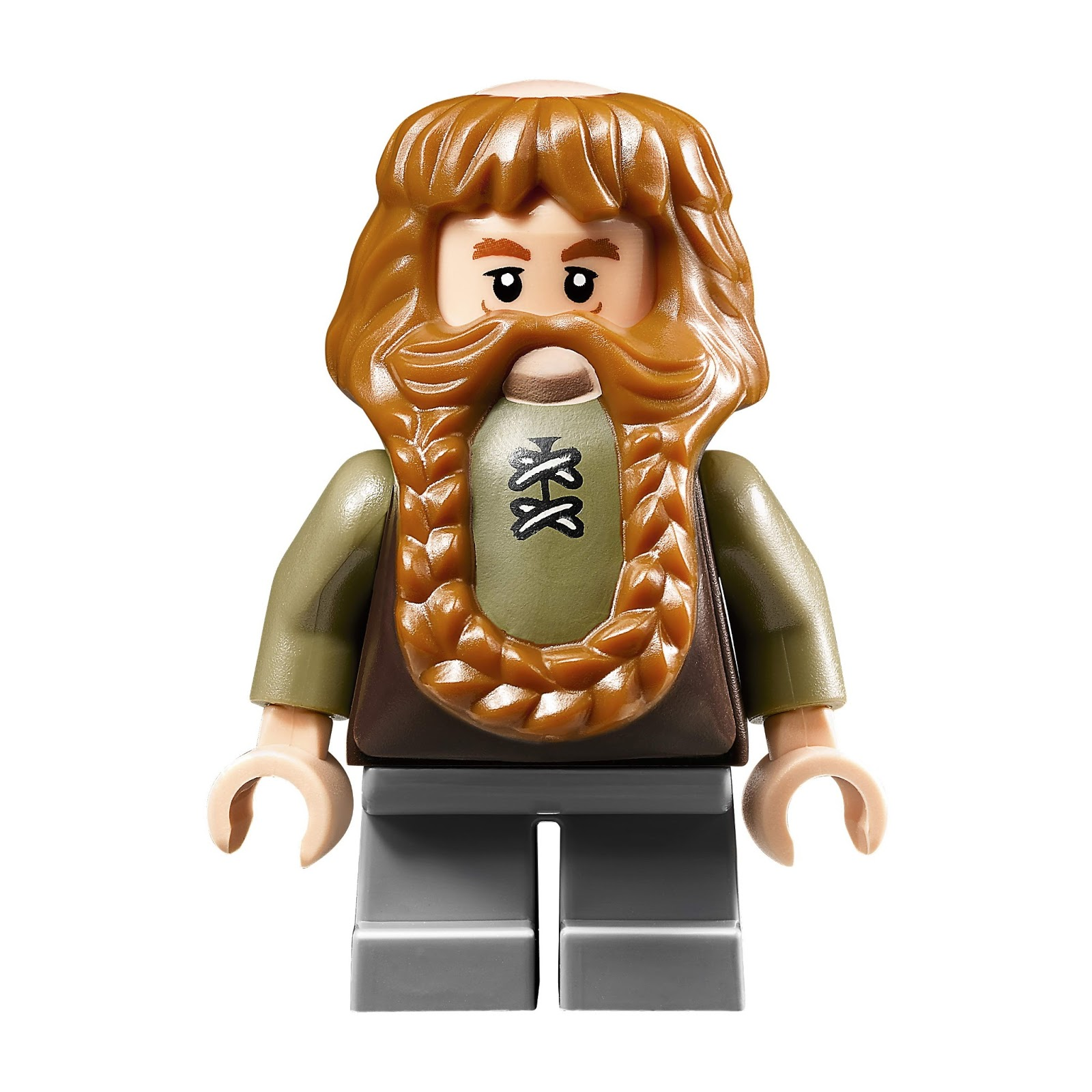 Mini Fig // Minifigure The Hobbit Bombur Loose LEGO 79003