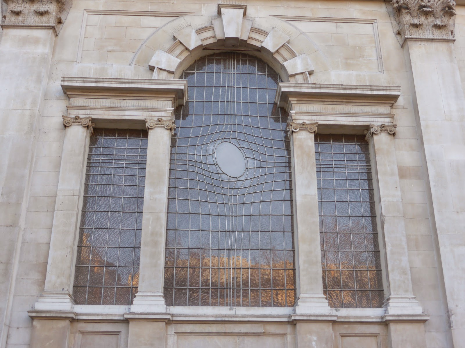 Admire the East Window at St Martin-in-the-Fields