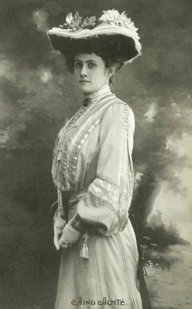 FINNISH SOPRANO AINO ACKTÉ (1876-1944) CD