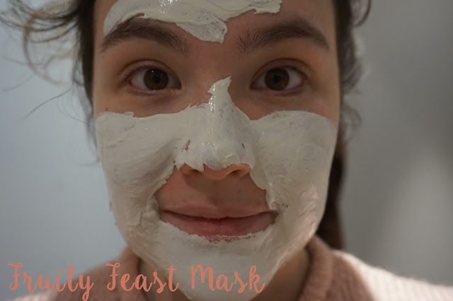 masque hema dead sea mask fruity feast mask avis revue