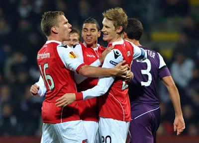 Austria Vienna 2 - 2 AZ Alkmaar (2)