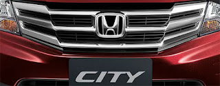 Photo: New facelift Honda City Front Chrome Grill