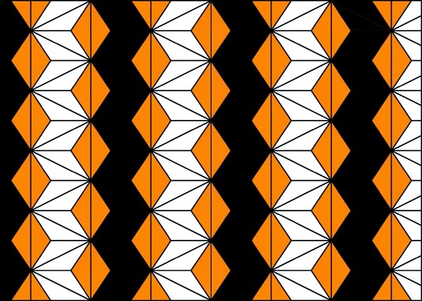 geometric pattern wallpaper, geometric pattern, black white orange, wallpaper design, geometric design