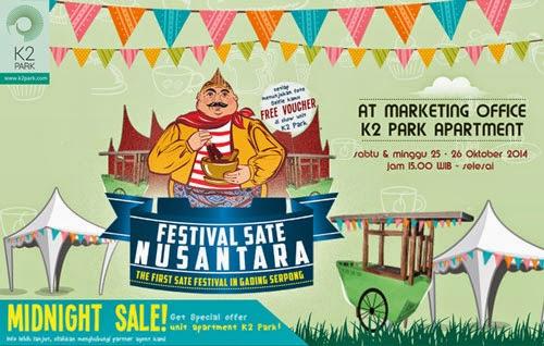 Festival sate nusantara gading serpong prioritas land indonesia