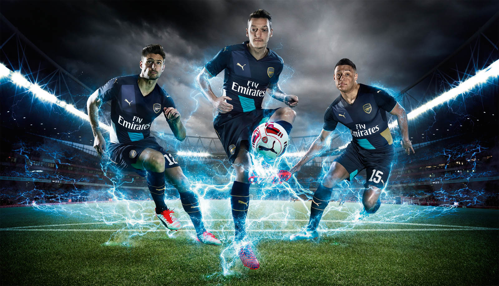Arsenal 15 16 kits released footy headlines for Home wallpaper 2016