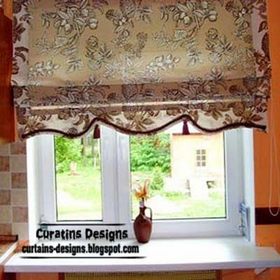 10 Exclusive Roman Shades Designs For Kitchen Roman Blinds