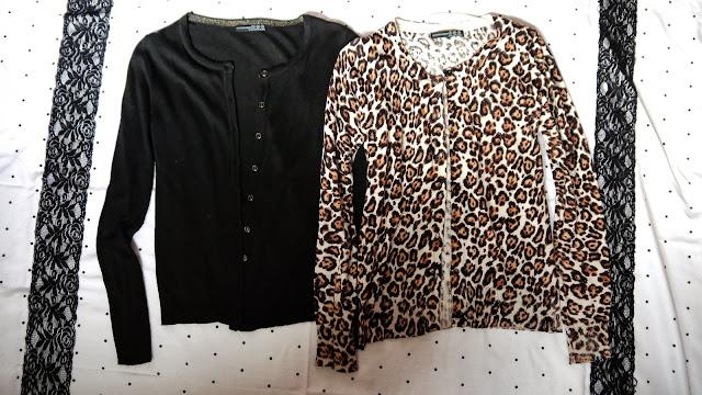 Clothing Haul cardigans black leopard print primark
