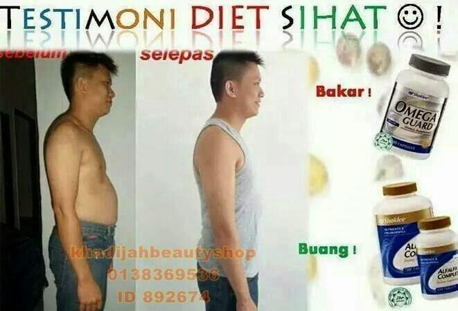 Vitamin Shaklee perut boroi