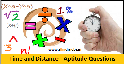 Time and Distance - Aptitude Questions and Answers