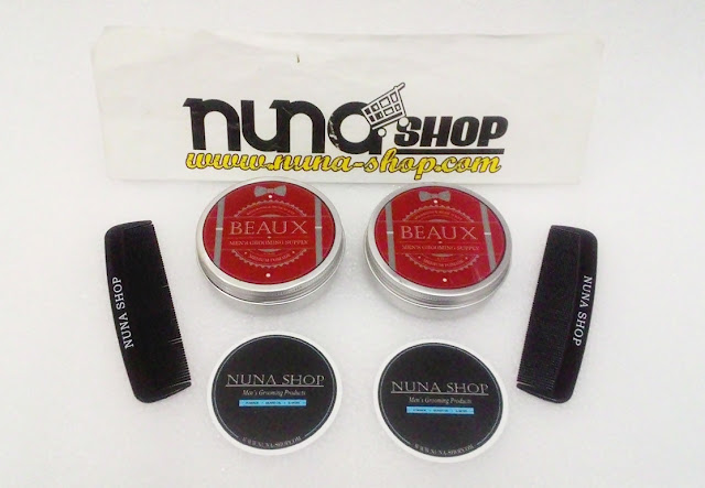 Minyak Rambut Beaux Pomade Medium Men's Grooming Supply