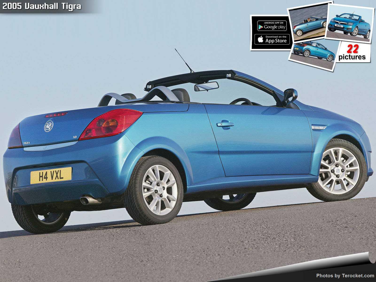 Hình ảnh xe ô tô Vauxhall Tigra 2005 & nội ngoại thất