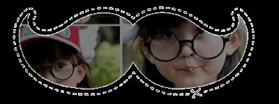 Acessórios: 15 Moustaches Personalizados - Bebê asiático