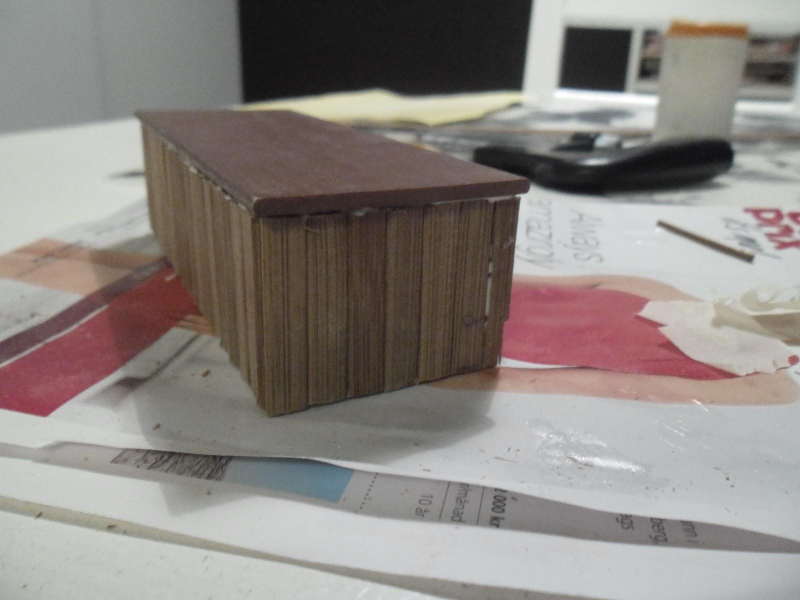 bänk till köket ~ annejs miniatyrer jag har gjort en bänk till köket