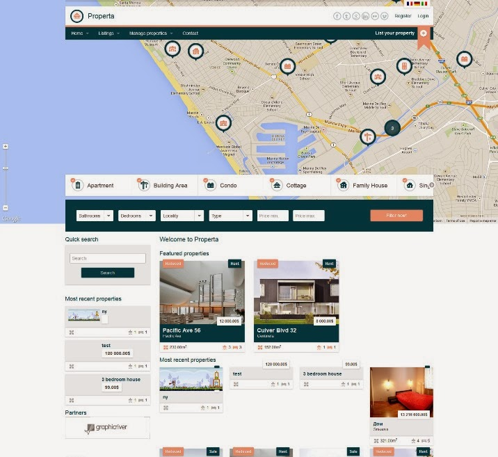 Properta - Real Estate Drupal Theme