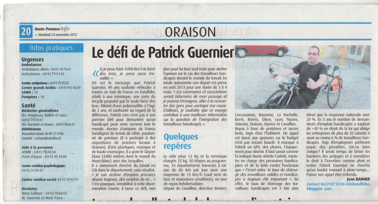 Article de presse haute provence info for Haute provence info