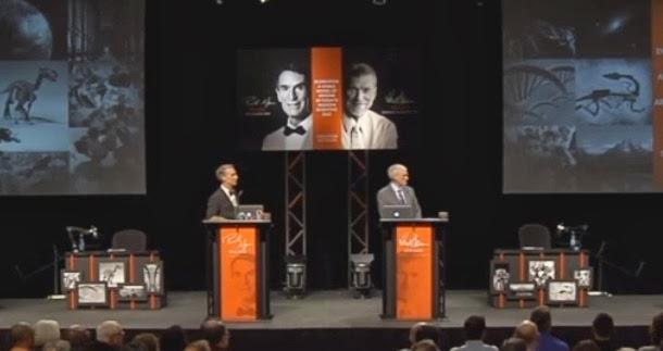 Debate entre Bill Nye e Ken Ham