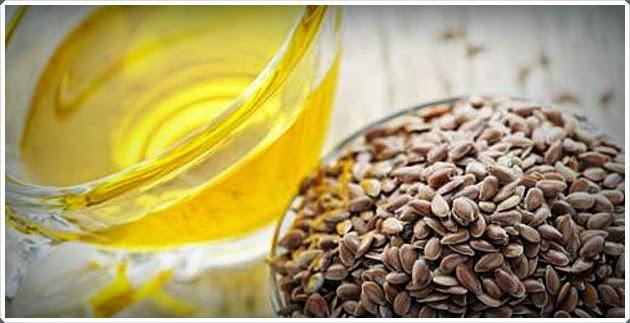 Nutrição capilar com óleo de Linhaça