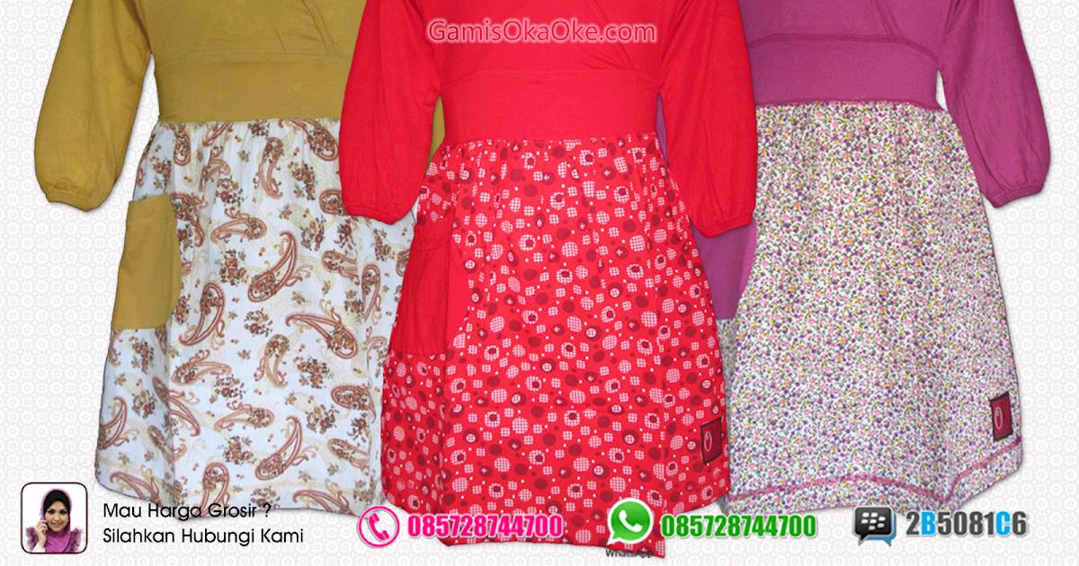 Grosir Baju Gamis Anak Perempuan Murah Meriah