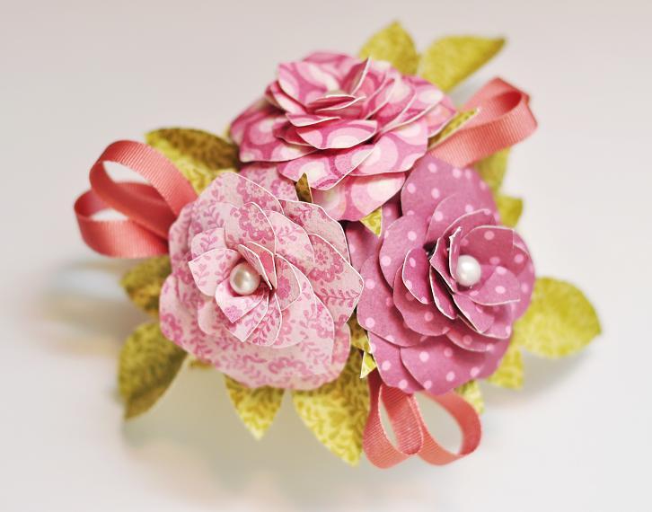 Ginger Williams: Cricut Flowers