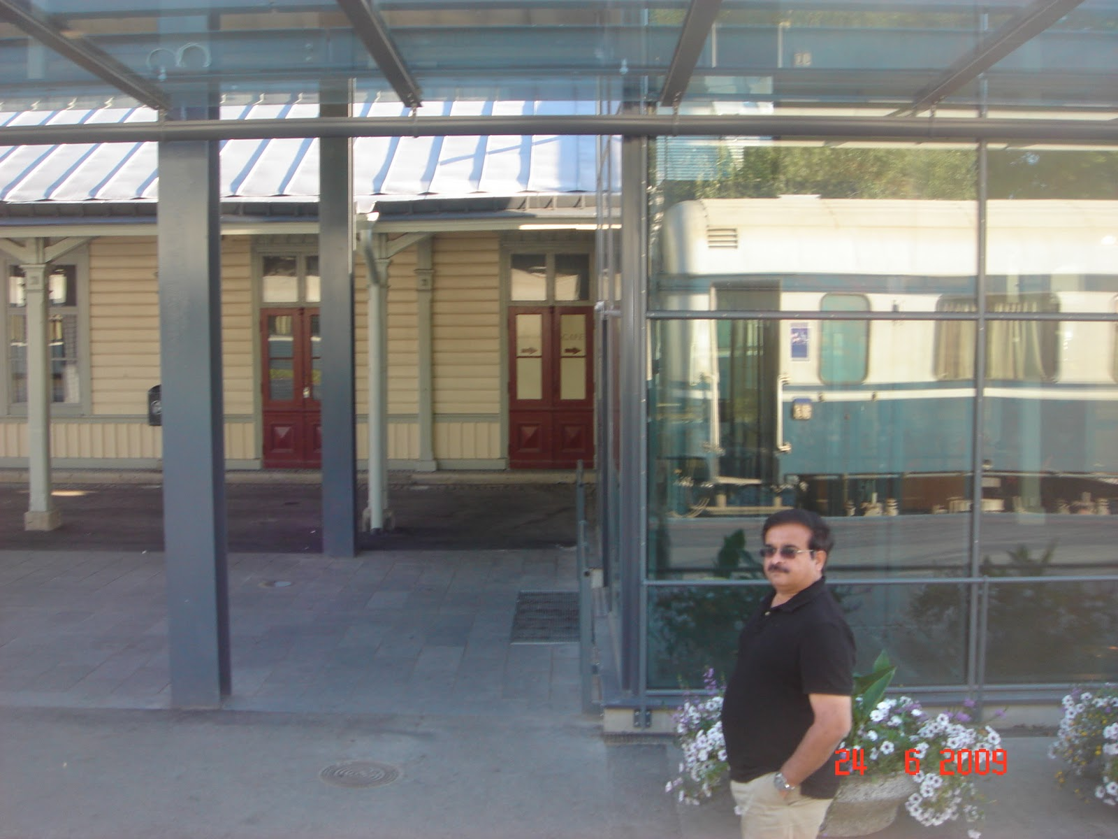 Vaasa railway Station,Finaland imageanchor=
