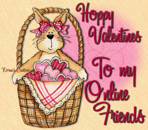happy valentines day friends