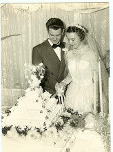 60 years ago! Congratulations Mom and Dad!