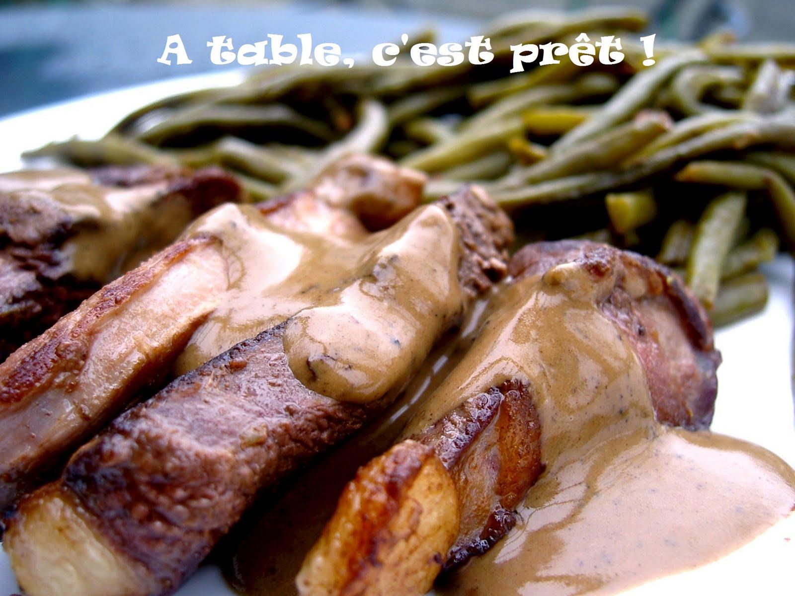 Table c 39 est pr t magret de canard sauce cr me au balsamique - Cuisiner un magret de canard a la poele ...