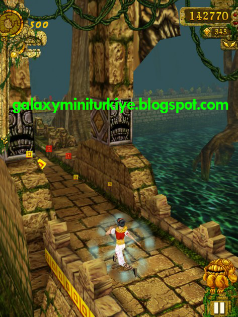 Temple Run Brave On Galaxy Pocket