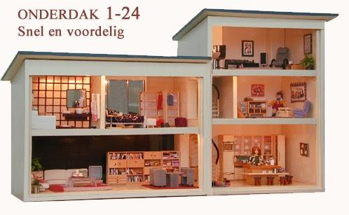 Minidesign huis 1 24 for Huis gezellig maken goedkoop