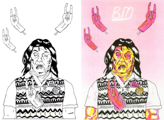 source uproxx - Bill Murray Coloring Book