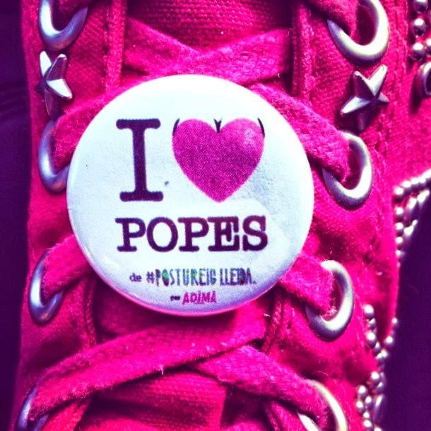 El teu cupcake, I love popes, Postureig Lleida, Adima